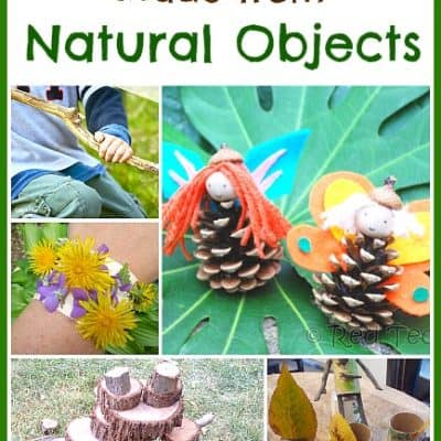 7 Homemade Toys from Natural Objects