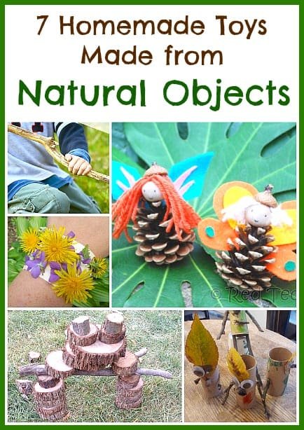7 Homemade Toys Made from Natural Objects