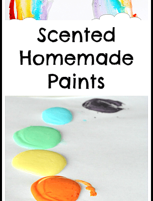 5 Ways to Explore the Sense of Smell with Homemade Paints