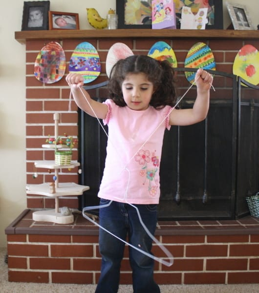 Science Experiment for Kids: Exploring Sound with a Hanger~ Buggy and Buddy