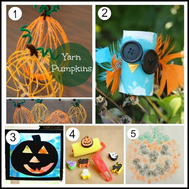 20 halloween art projects for kids - Preschool Halloween Art Projects