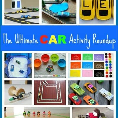 40+ Toy Car Activities for Toddlers and Preschoolers