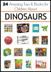 24 Amazing Toys and Children's Books about Dinosaurs {Discover & Explore}