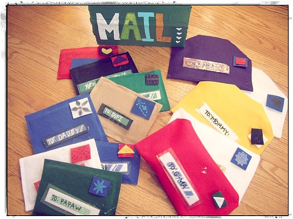 No-Sew Mail and Play Mailbox~ Nothing if Not Intentional