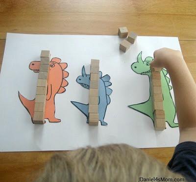 measuring dinosaurs