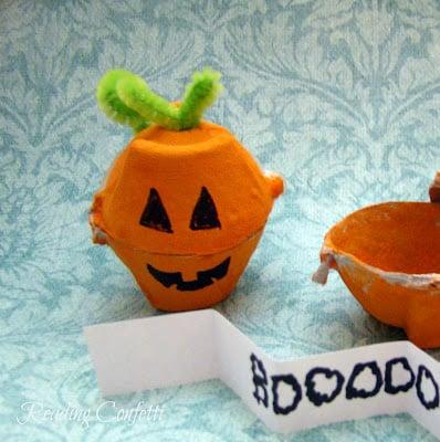 Secret Message Pumpkins