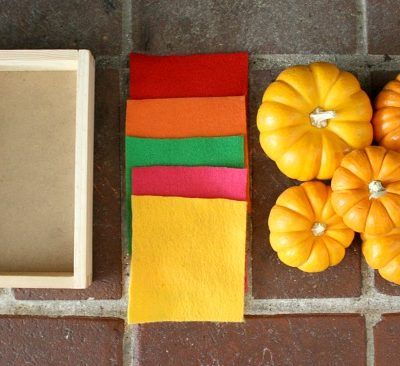 Halloween Activities for Toddlers: Mini Pumpkins and Felt
