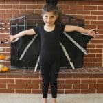 Felt monarch butterfly wings tutorial buggy and buddy diy bat costume for kids bat wings and bat ears solutioingenieria Image collections