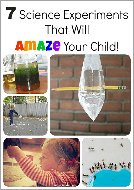 7 Science Experiments for Kids That Will AMAZE Your Child!