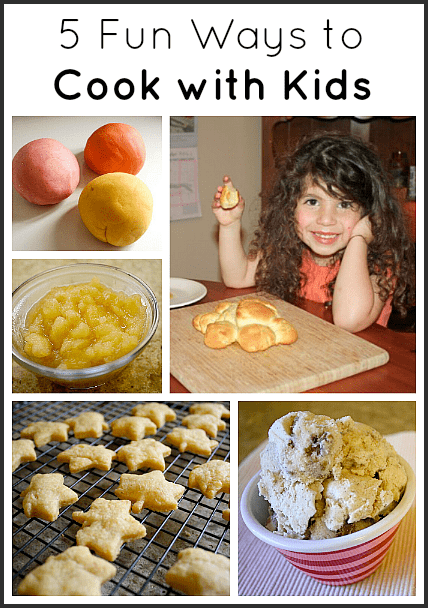 5 Fun Ways for Cooking with Kids~ Buggy and Buddy