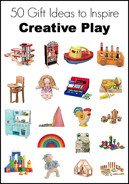 Gift Ideas for Kids: 50 Gift Ideas to Inspire Creative Play~ Buggy and Buddy