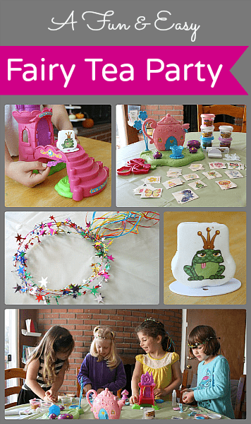 A Fun Fairy Tea Party!