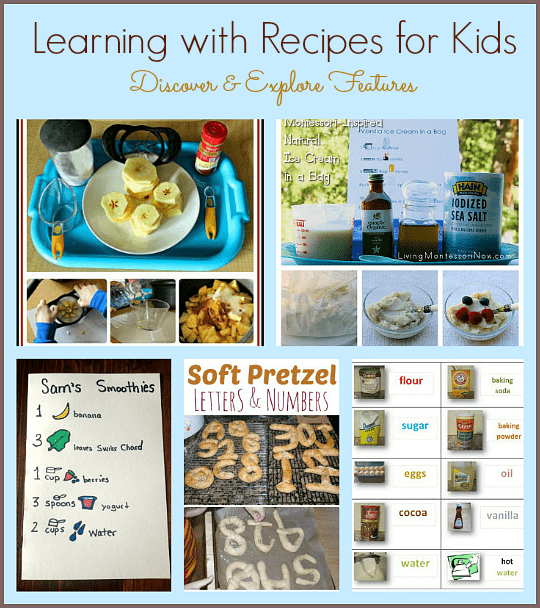 Classroom Cooking Ideas ~ Learning with recipes for kids buggy and buddy