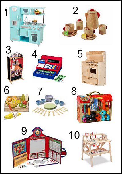 10 Toys to Inspire Imaginative Play
