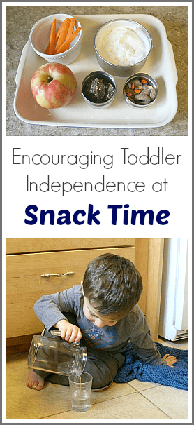 Encouraging Toddler Independence with Snack Time~ Buggy and Buddy