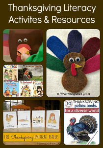 Thanksgiving Literacy Activities and Resources for Kids