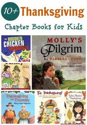 Fun Thanksgiving Chapter Books