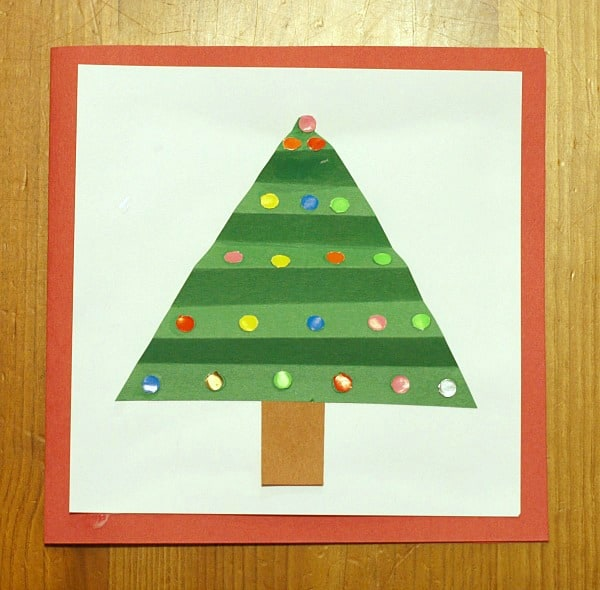christmas tree greeting card - Christmas Tree Card