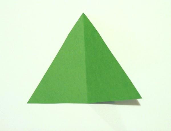 cut a green triangle