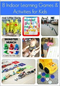 8 Indoor Activities and Learning Games for Kids