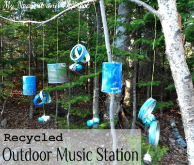 Recycled Outdoor Music Station~ My Nearest and Dearest