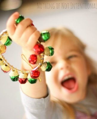 Christmas Discover Boxes & Jingle Bell Tambourines~ Nothing if Not Intentional