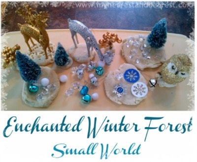 Enchanted Winter Forest Small World~ My Nearest and Dearest