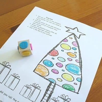 Free Printable Christmas Coloring Game