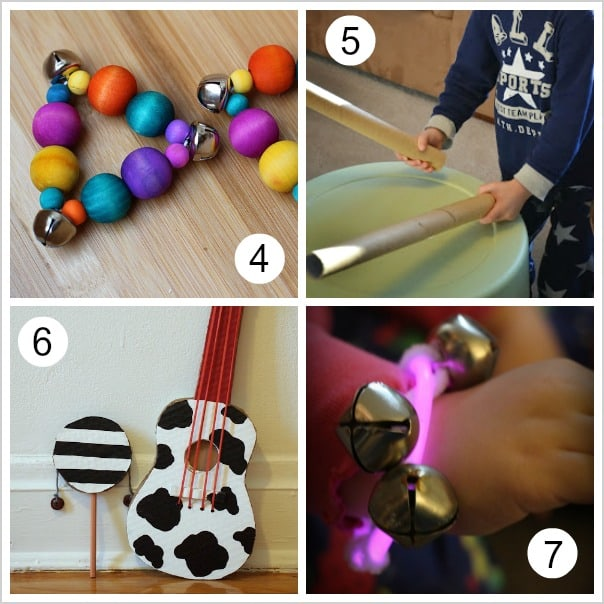 Over 10 Homemade Musical Instruments