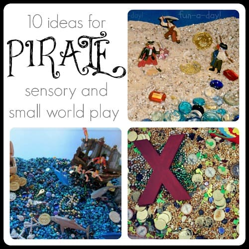 Pirate Sensory Play