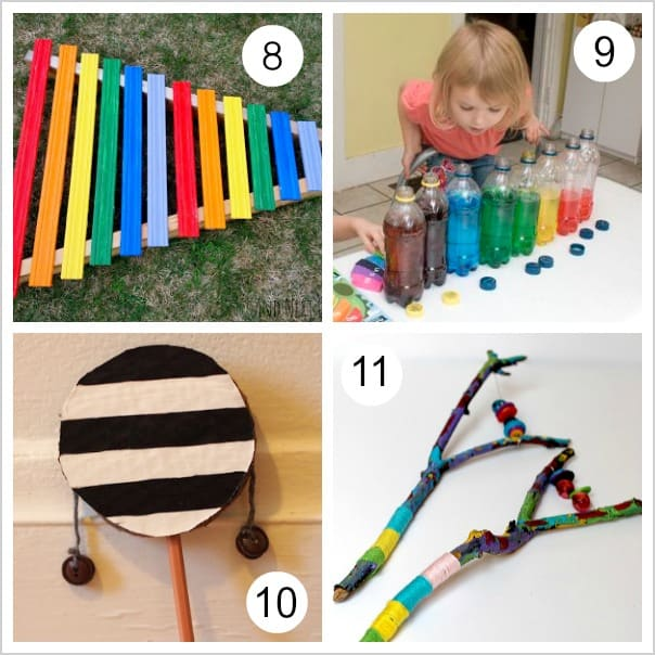10 Homemade Musical Instruments For Kids Buggy And Buddy