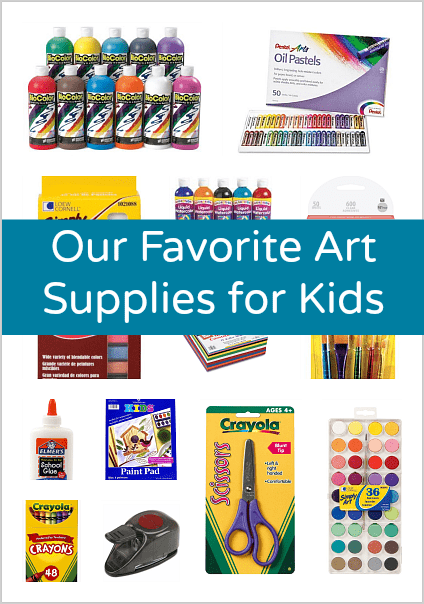 Our Favorite Art Supplies for Kids~ Buggy and Buddy
