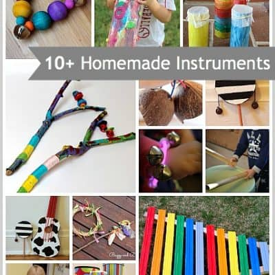 10+ Homemade Musical Instruments for Kids