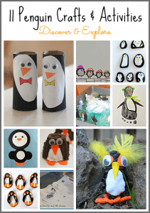 11 Penguin Crafts and Activities for Kids