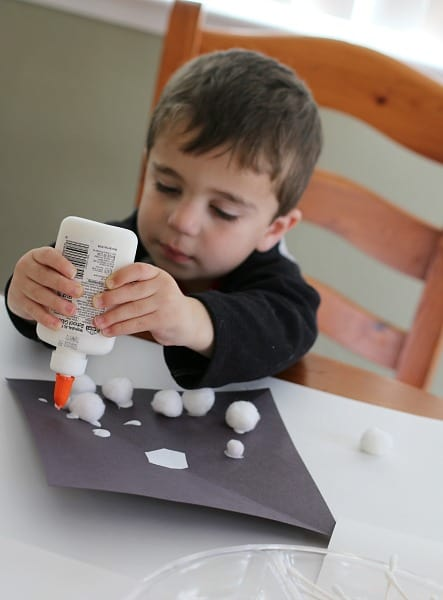 Toddler Craft for Winter