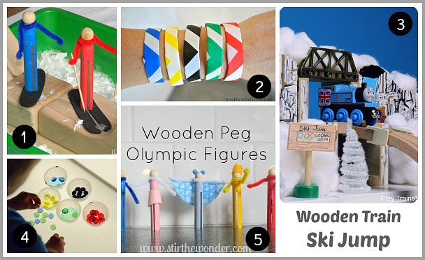 Olympic Themed Activities and Crafts for Kids