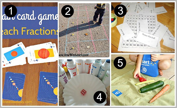 15+ Math Games for Kids
