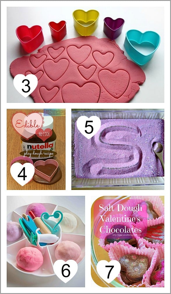Valentine Themed Recipes for Play and Creating