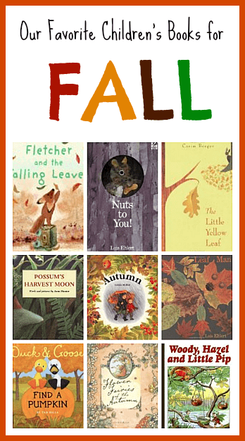 Fall Themed Children's Books