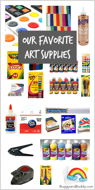 Our Absolute Favorite Art Supplies (from must-have paints to cutting tools)! ~ BuggyandBuddy.com