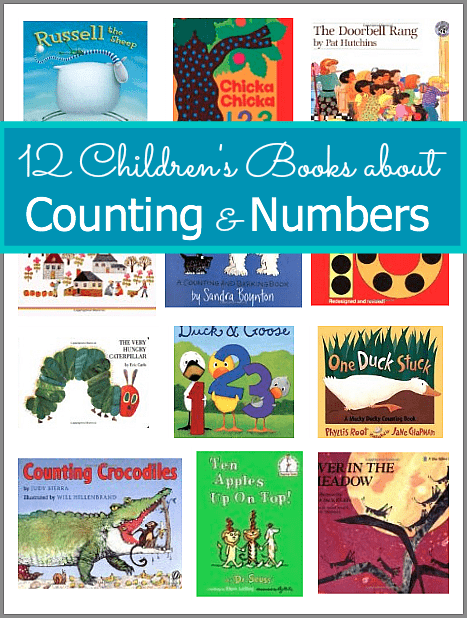 12 Children's Books about Counting and Numbers