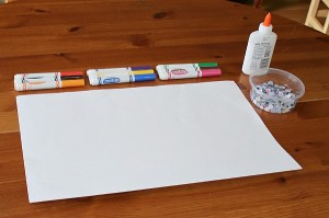 Easy Art for Kids Using Markers and Googly Eyes