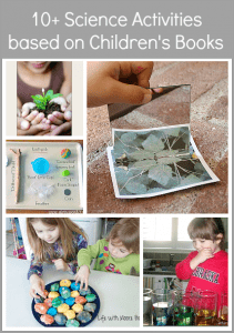 10+ Science Activities for Kids Based on Children's Books