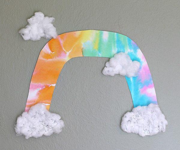 Unique Rainbow Art for Kids