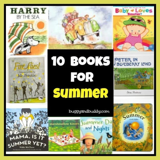 Summer Themed Children's Books
