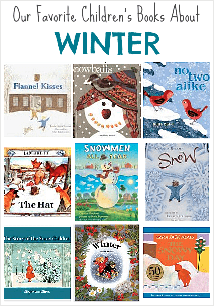 Popular children's picture books for winter: including books by Jan Brett, Lois Ehlert, and Cynthia Rylant!
