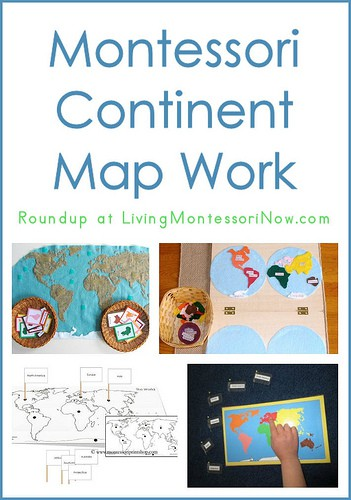 Continent Map Work