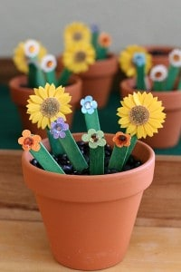 Alphabet Activities for Spring: Alphabet Flower Garden Activity