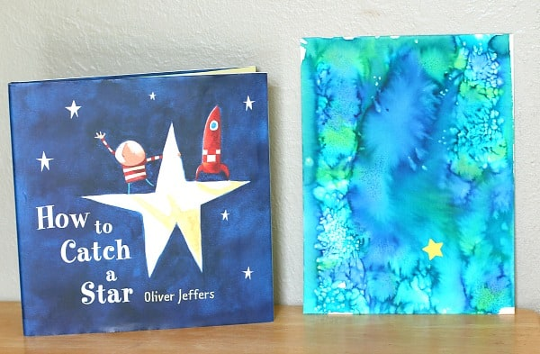 Art Activity to Go with the Story How to Catch a Star by Oliver Jeffers