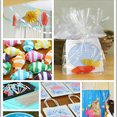 A Fish Themed Birthday Party